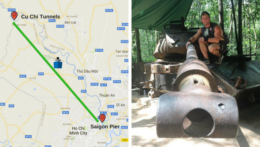 19F79 -  Discover Cu Chi Tunnels in the Morning by Les Rives Speedboat