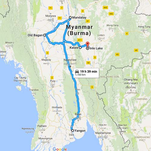 Classic Myanmar - Small Group Tour